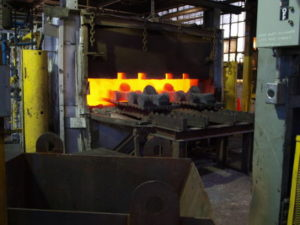 Heat treatment at Canton Drop Forge