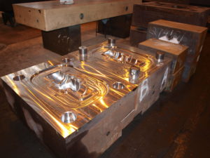 CNC machine for forged products