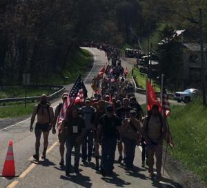 Tom Indorf's Outreach to Veterans Parade