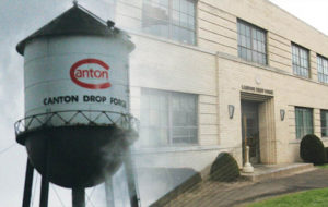 canton drop forge water tower demolition