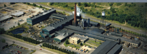 canton drop forge aerial view of plant