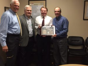 Canton Drop Forge received the Supplier Excellence Award from Caterpillar