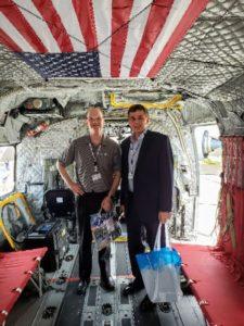 Gary & John - Canton Drop Forge at the Paris Airshow