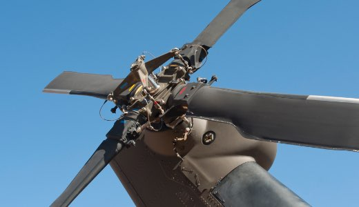 Helicopter Tail Rotor Hub